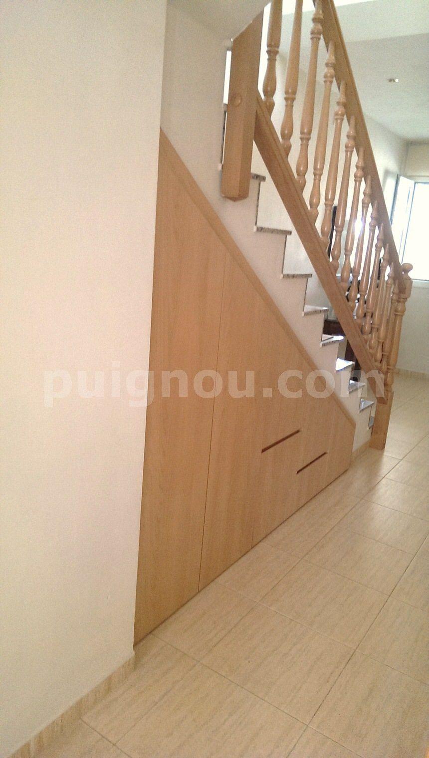 Armarios Debajo De La Escalera Fabulous Decorar Debajo De La  # Muebles Debajo De Gradas