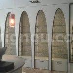 muebles de madera expositor tienda en Barcelona