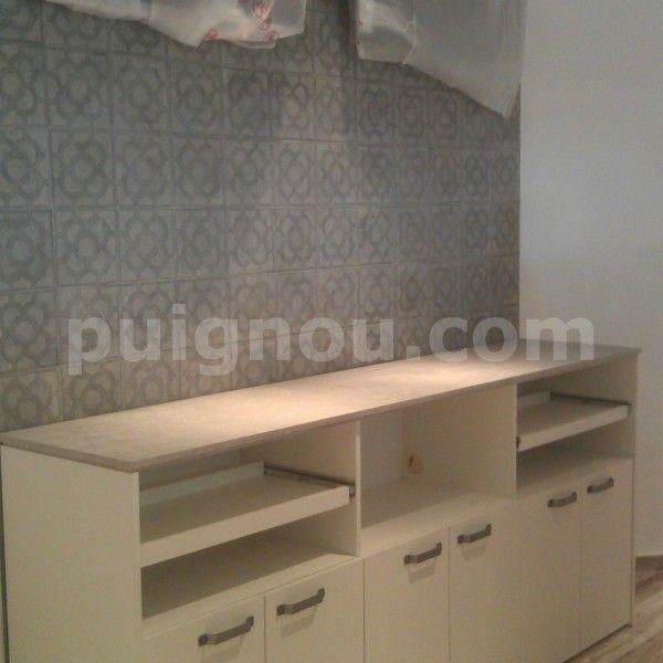 muebles de madera para tienda en Barcelona